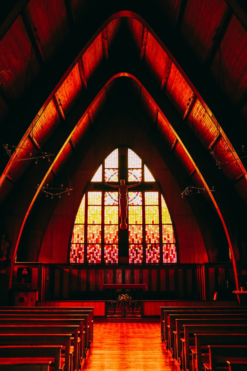 inside photography of church